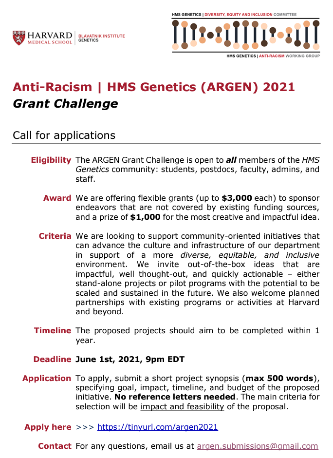 Front page of application